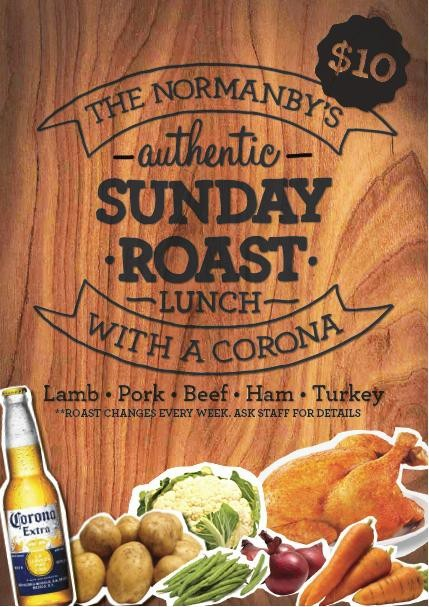 Sunday Roast Brisbane S Best Pub The Normanby Hotel